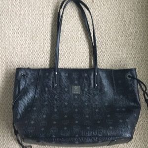MCM black tote. LIMITED EDITION!